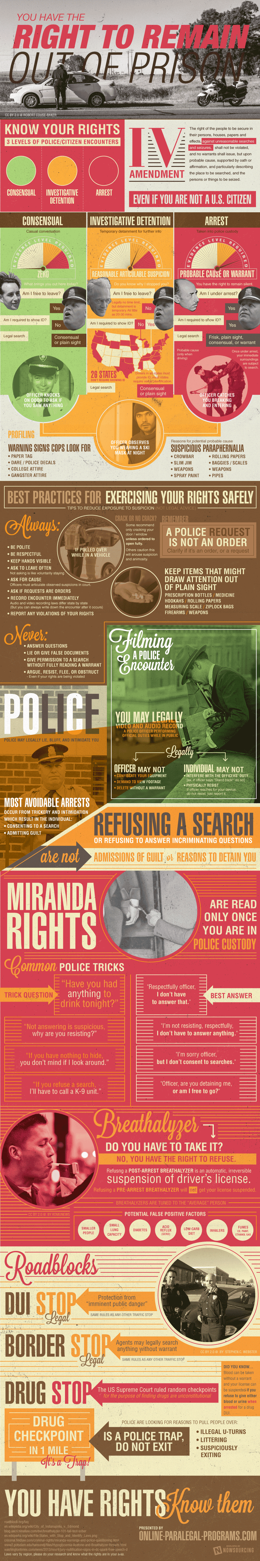 Your Rights When The Cops Pull You Over Explained In One Brilliant Infographic