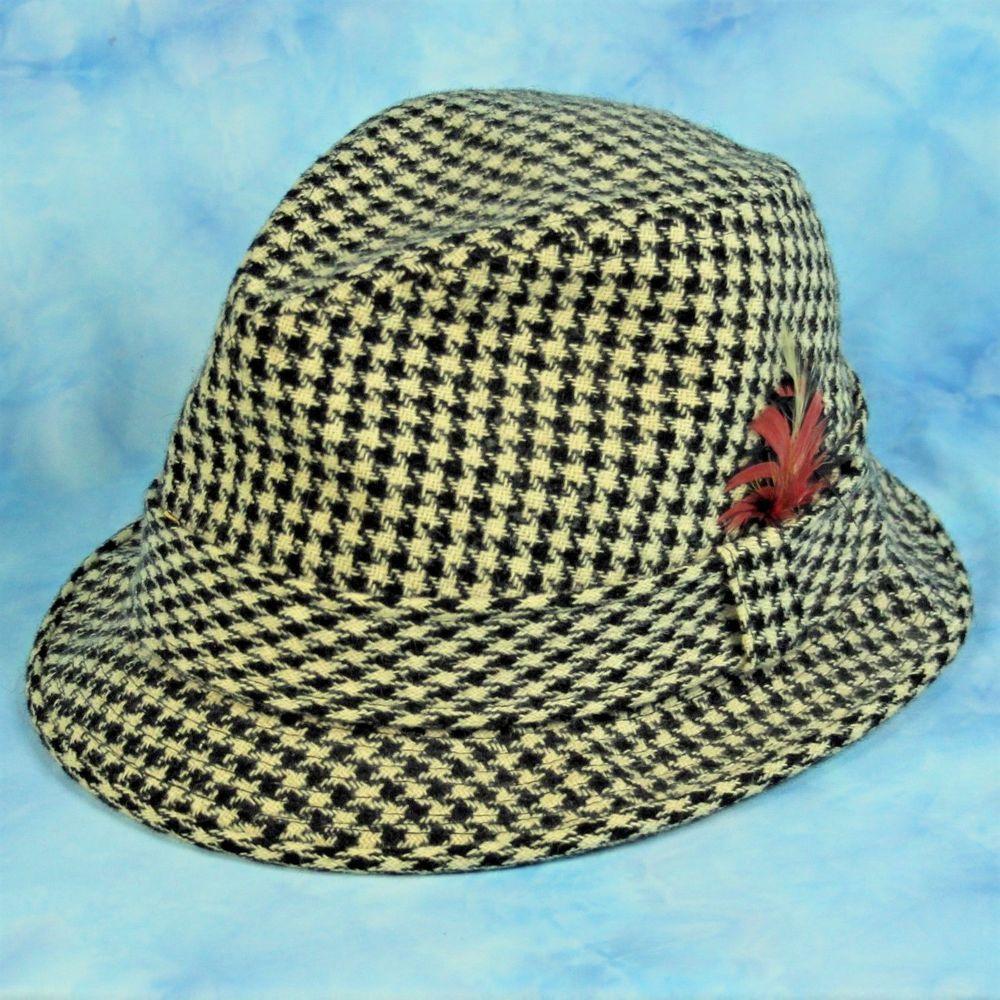 ... swoosh flex hat 637cf 381af  wholesale vtg cavanagh houndstooth hat  university of alabama football crimson tide small the sharp dressed man a6c792de7357