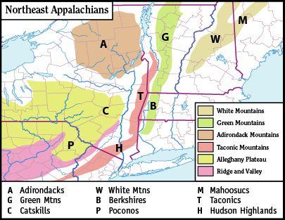White Mountains (New Hampshire) - Wikipedia, the free encyclopedia - new world map blank wikipedia