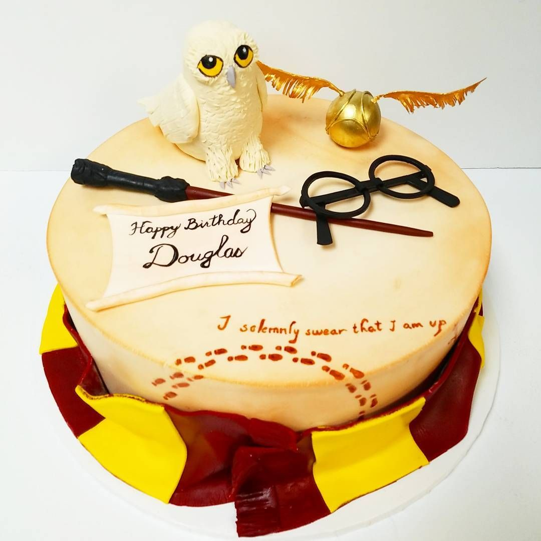 35 Harry Potter Cake Ideas For Your Child's Next Birthday