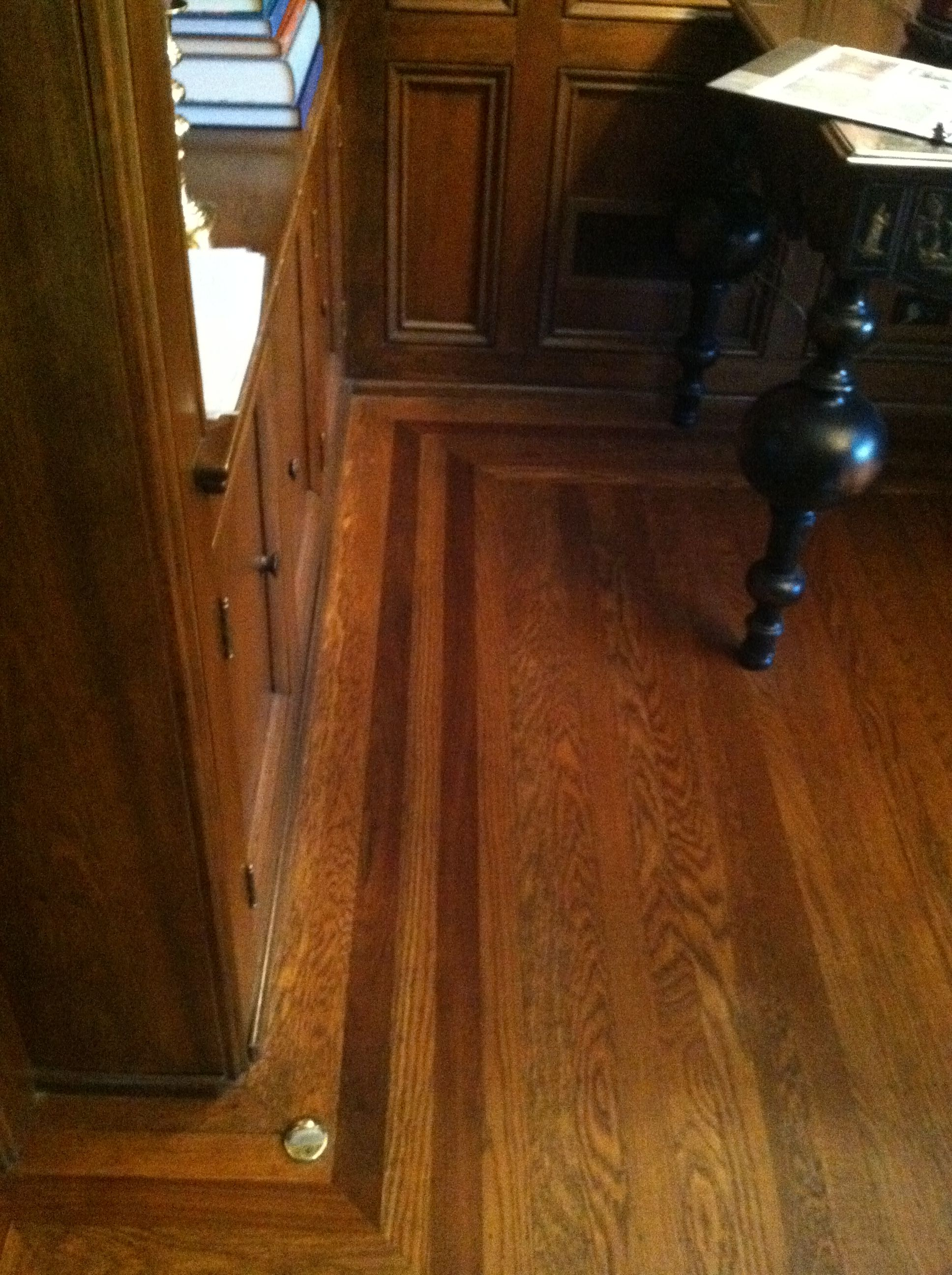 Low Contrast Accent Border In Whole House Hardwood Floor