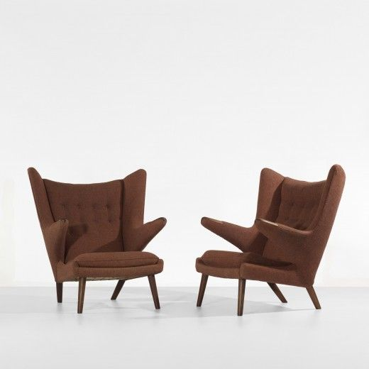 HANS WEGNER    Papa Bear chairs