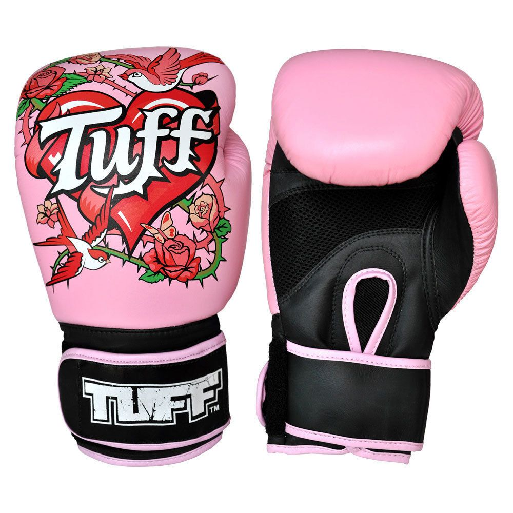 Rose Pink Boxing Gloves Womens Boxing Gloves 12 Oz Muay Thai 8 16oz