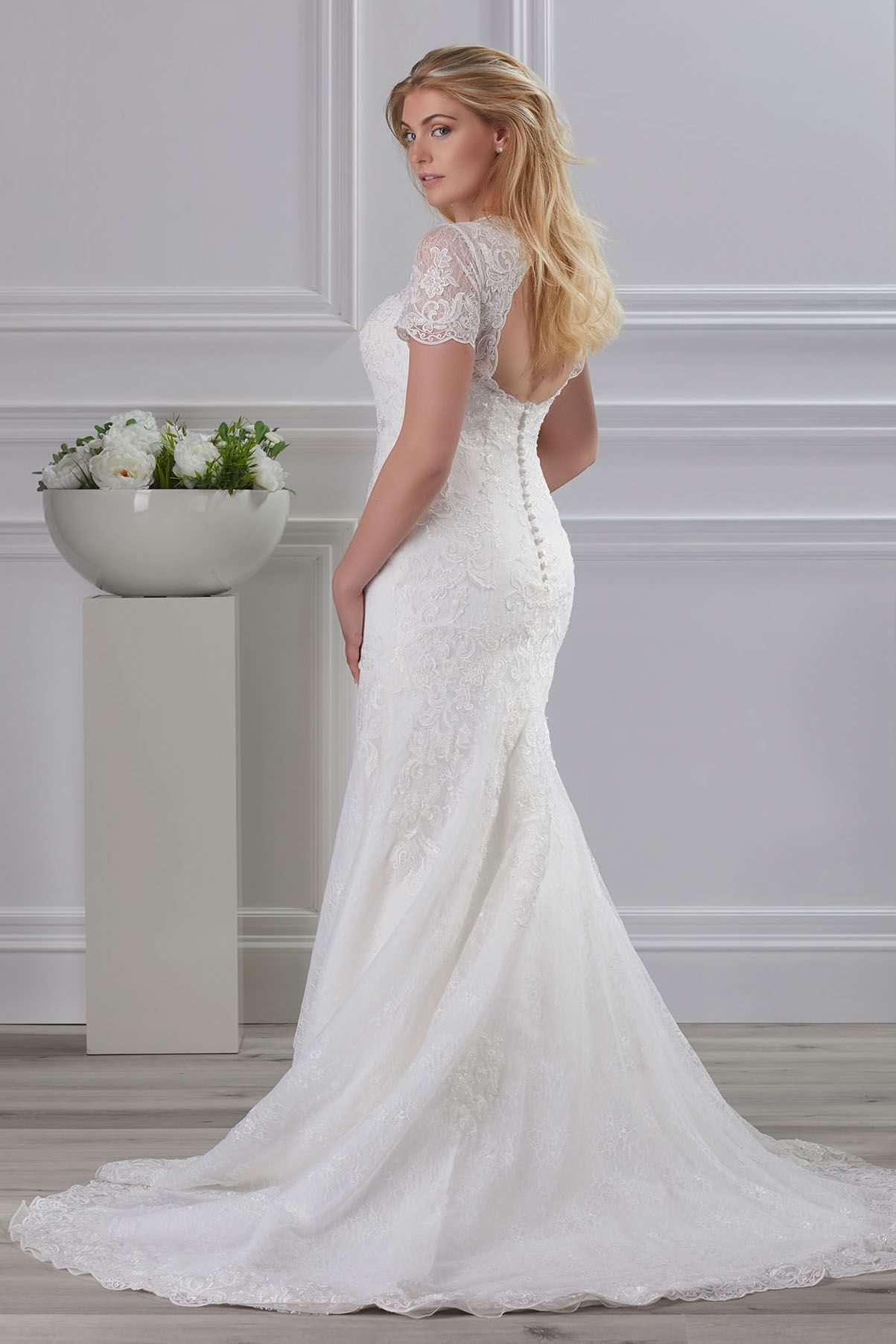 Eleganz Mit Perfekter Passform Plus Size Brautmode Miss Emily Von