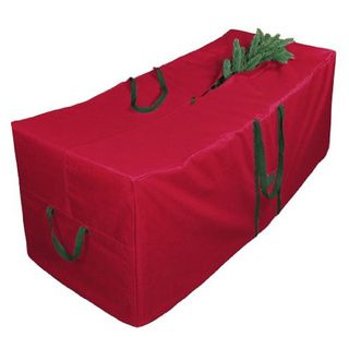 Christmas Tree Storage Bag With Wheels Fascinating Red 58Inch Christmas Tree Storage Bag With Wheels  Christmas Tree Inspiration Design