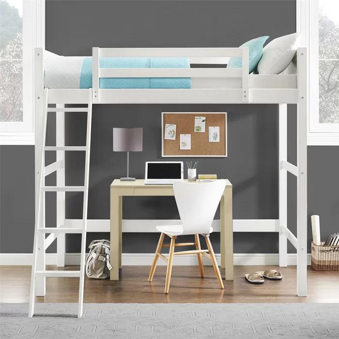 Zuniga Twin Loft Bed In 2021 Twin Loft Bed Dorel Living Bedroom Design