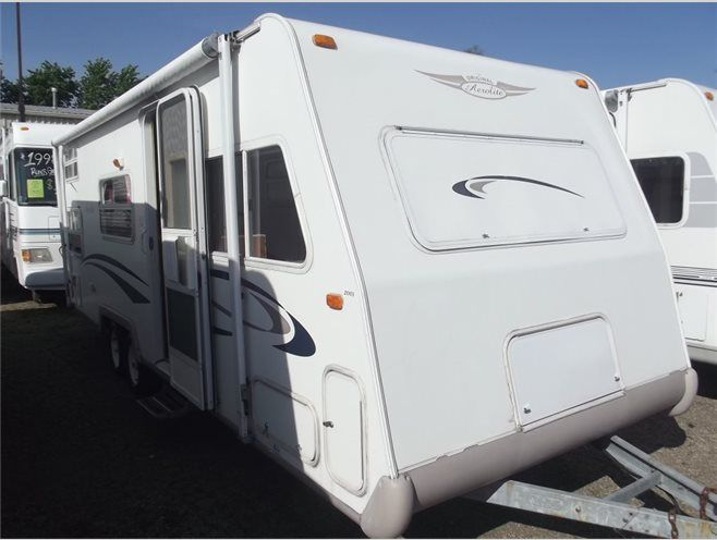 Used 2001 Thor Aerolite 25RBH Travel Trailer at Specialty RV Sales