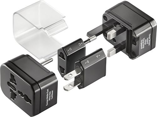 Insignia - Global Travel Adapter Kit - Black in 2019 | Products