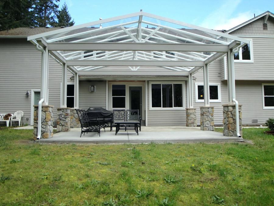 Hip Roof Patio Cover Plans Outdoor Covered Patio Patio Covered Patio