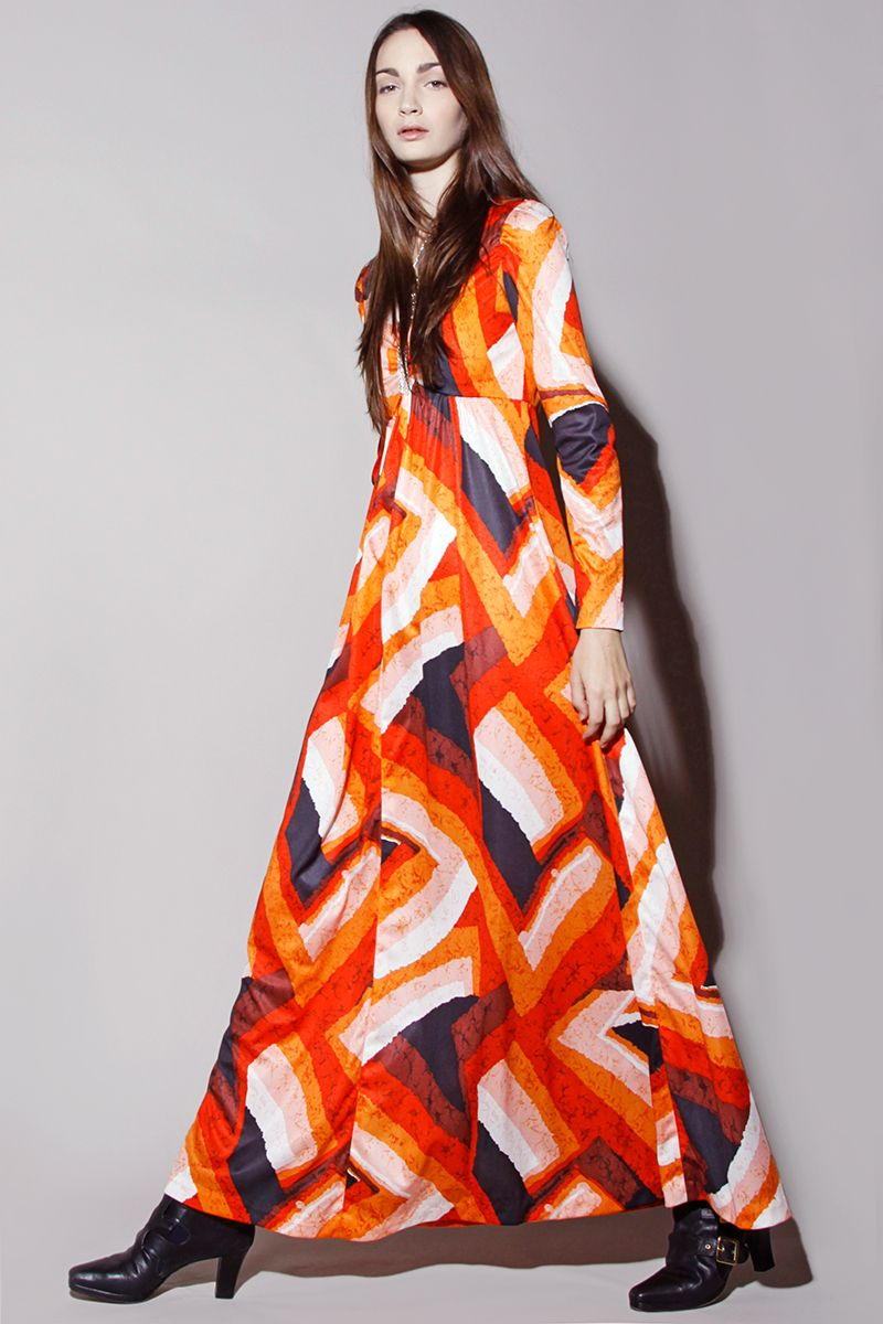 70 s maxi dresses outfits