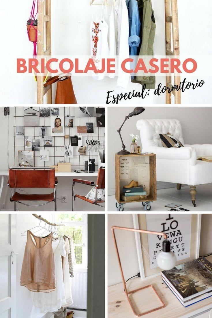 Bricolaje casero ideas para decorar tu dormitorio ideas diy pinterest bricolaje - Bricolaje y decoracion ...
