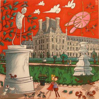 La Galerie Art Espace Secrets D Artistes De Nantes Presente Alain Godon Art Peinture Galerie D Art