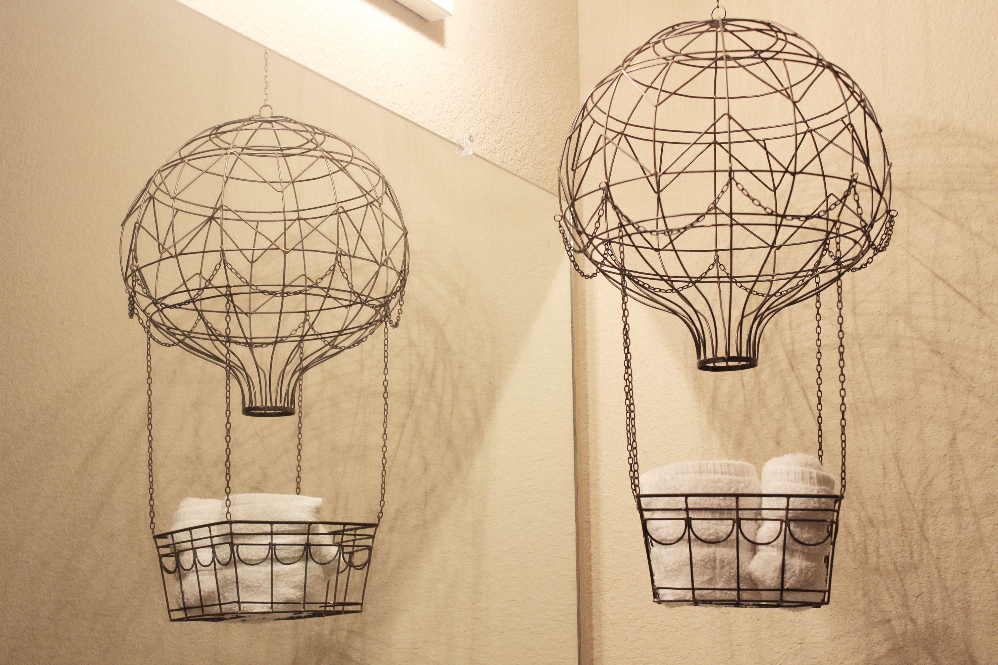 Collected Neutral Bathroom Decor Diy hot air balloons