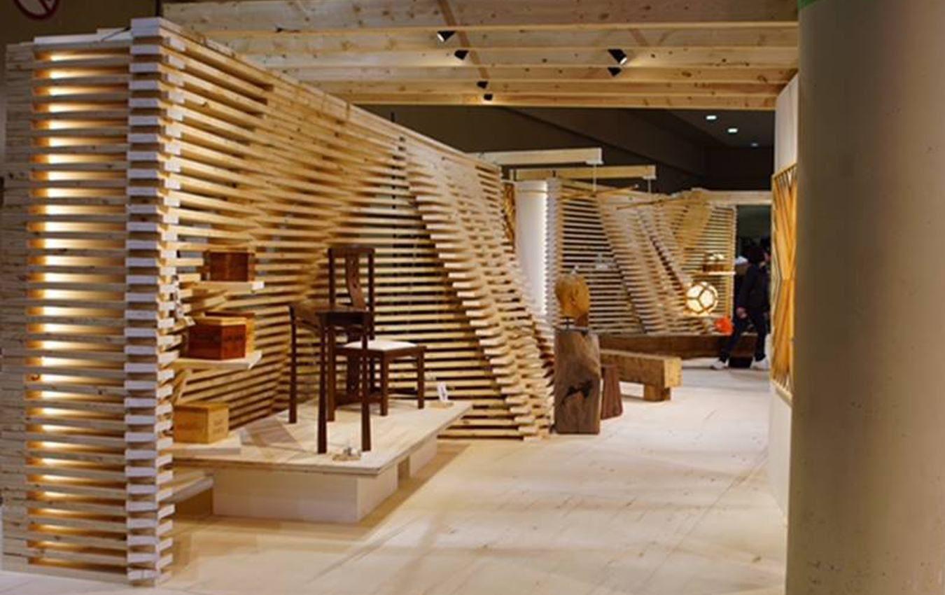 Ontario Wood Booth Design At IDS17 In Toronto (Interior Design Show)