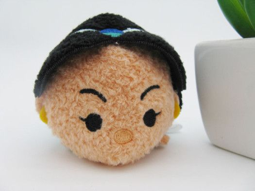 Photo of Jasmine Tsum Tsum from upcoming Aladdin Set to be released in August or September.