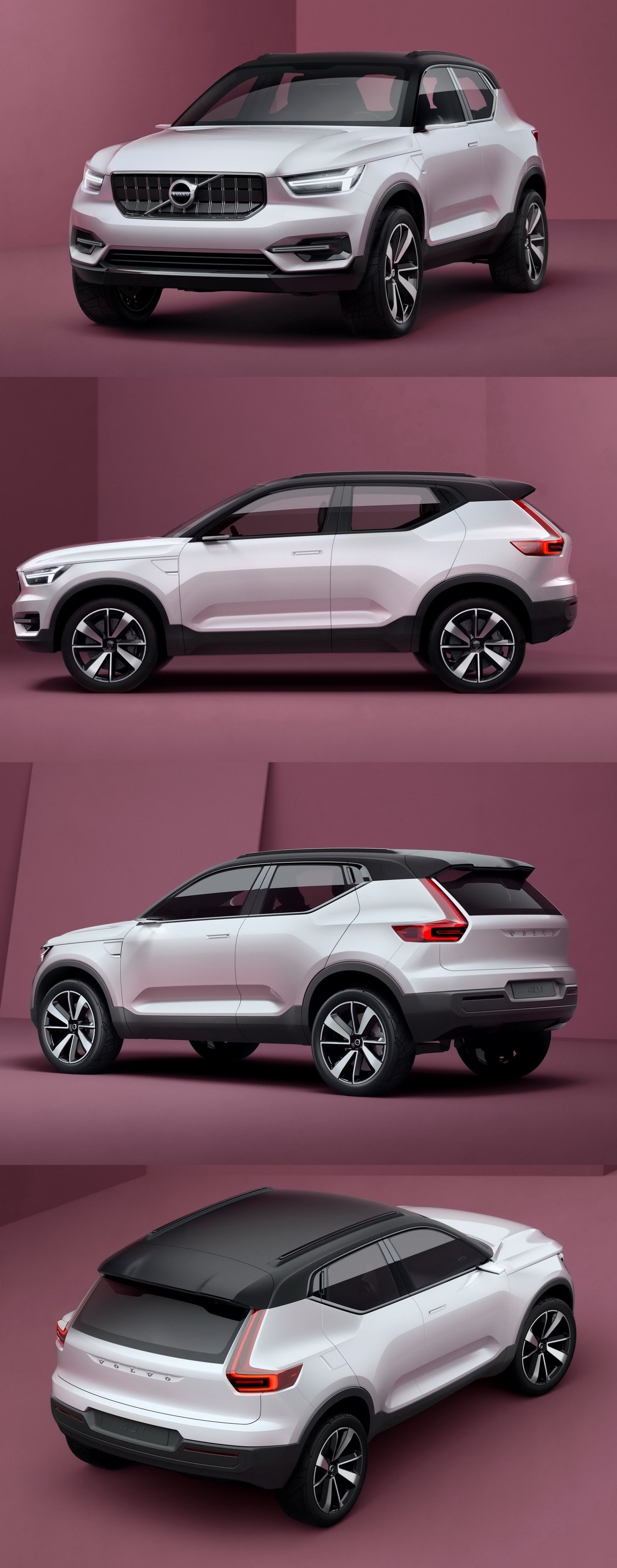 volvo xc40 to unveil at 2017 shanghai auto show