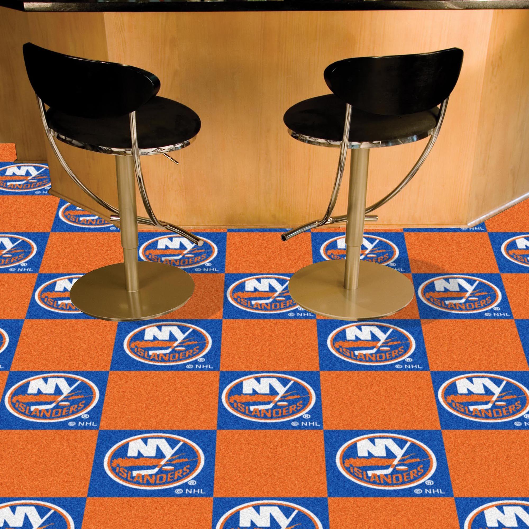 New York Islanders Team Carpet Tiles Carpet tiles