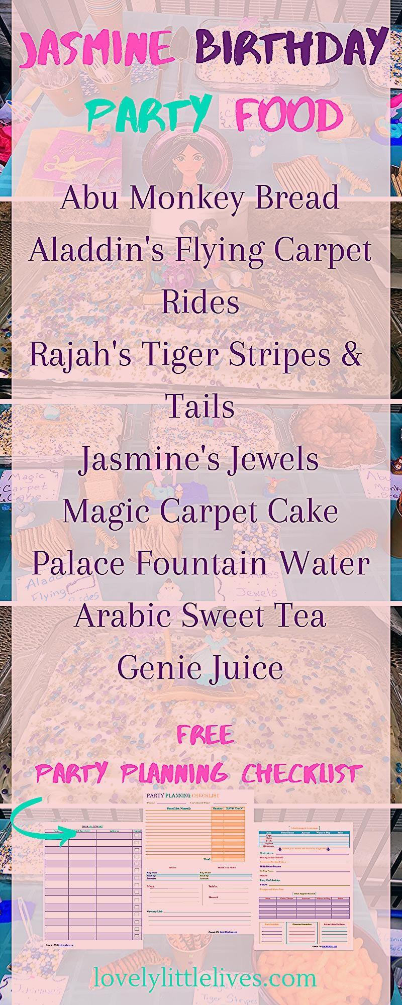 Photo of Jasmine Birthday Party  Food