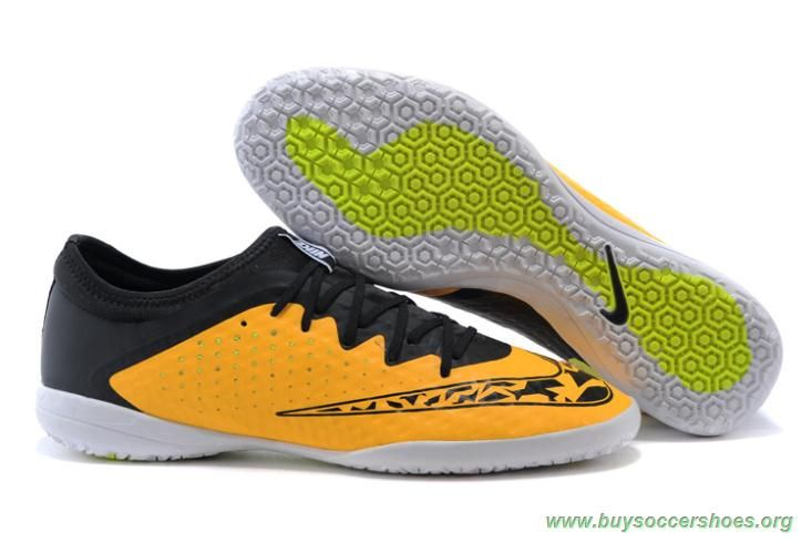 san francisco d881c 5a738 Futsal Shoes Laser Orange-Volt-Black NIKE ELASTICO Finale III T5 Indoor Mens