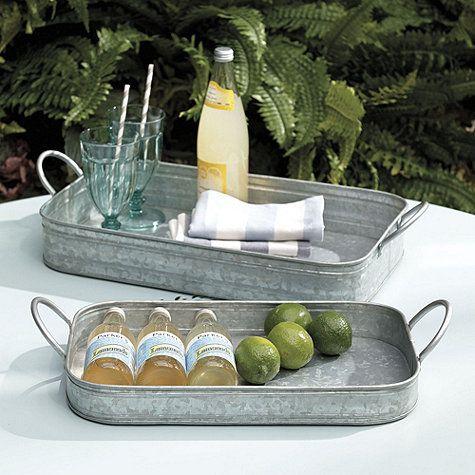 Hayden Nesting Trays - Set of 2