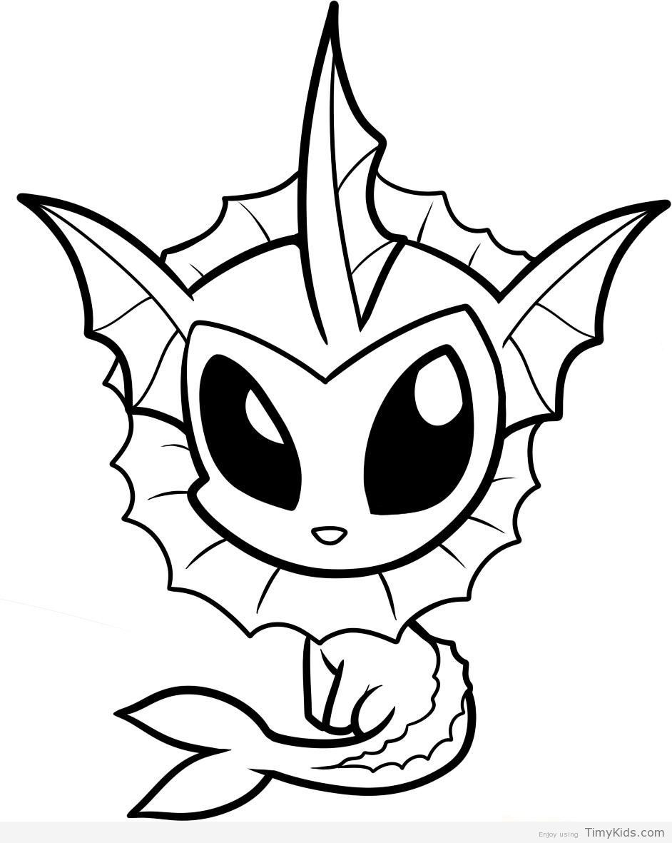 baby pokemon coloring pages | Детские, Лето