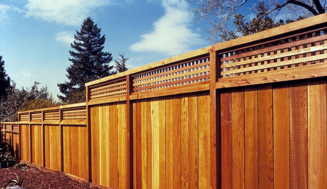 Redwood Fence Project Plans Redwood Fences Redwood Fence Fence Wood Projects