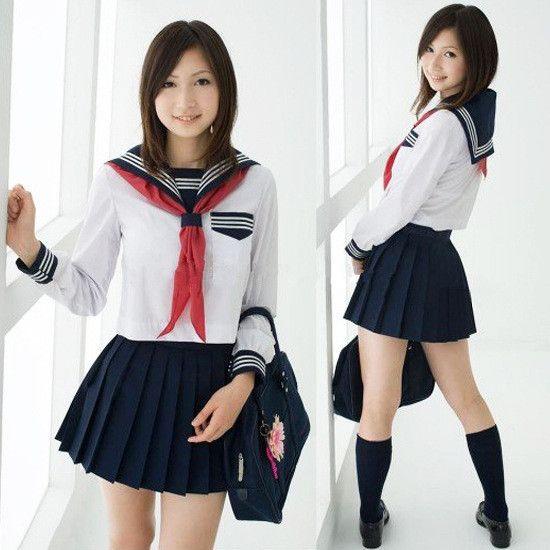 5a3e25b0e14e3 Resultado de imagem para roupa de colegial japonesa