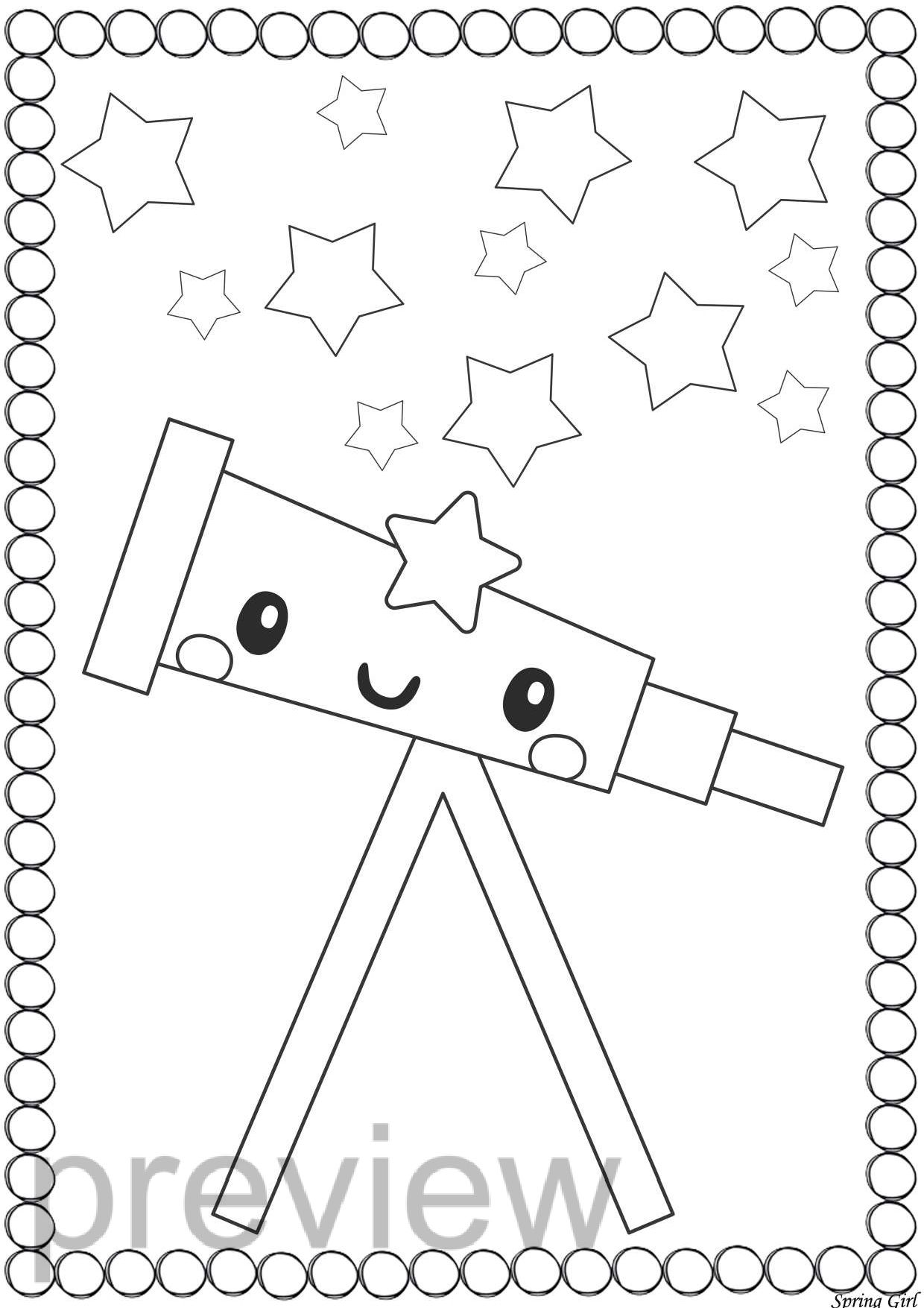 Space Coloring Pages Space Coloring Pages Coloring Pages Space