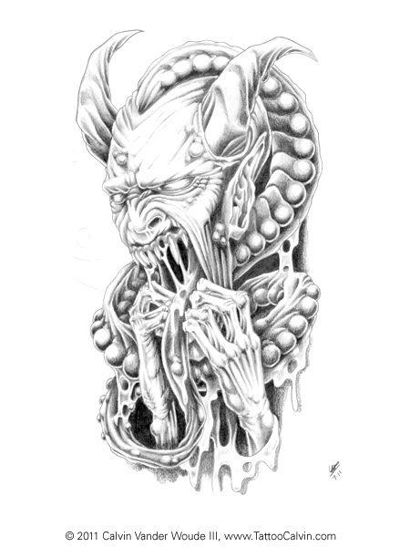 Horned Demon With Images Demon Drawings Demon Tattoo Dark Art Drawings