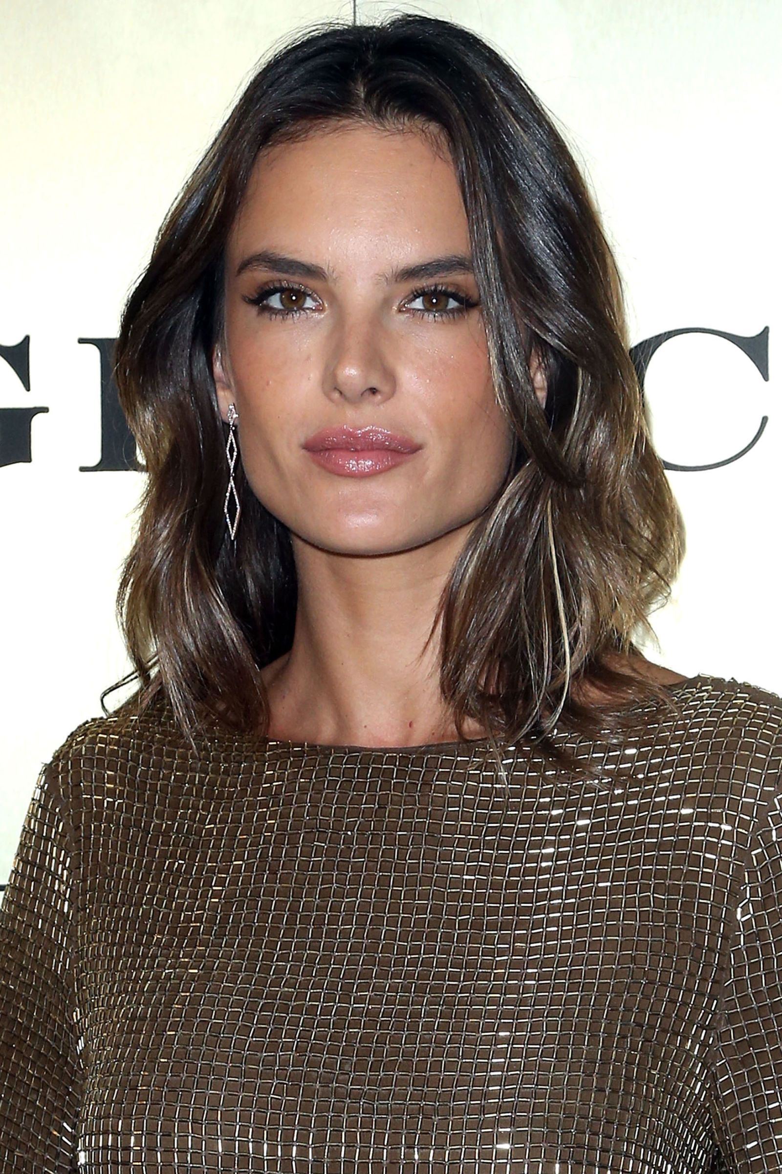 Ambrosio Alessandra spring hairstyle pictures