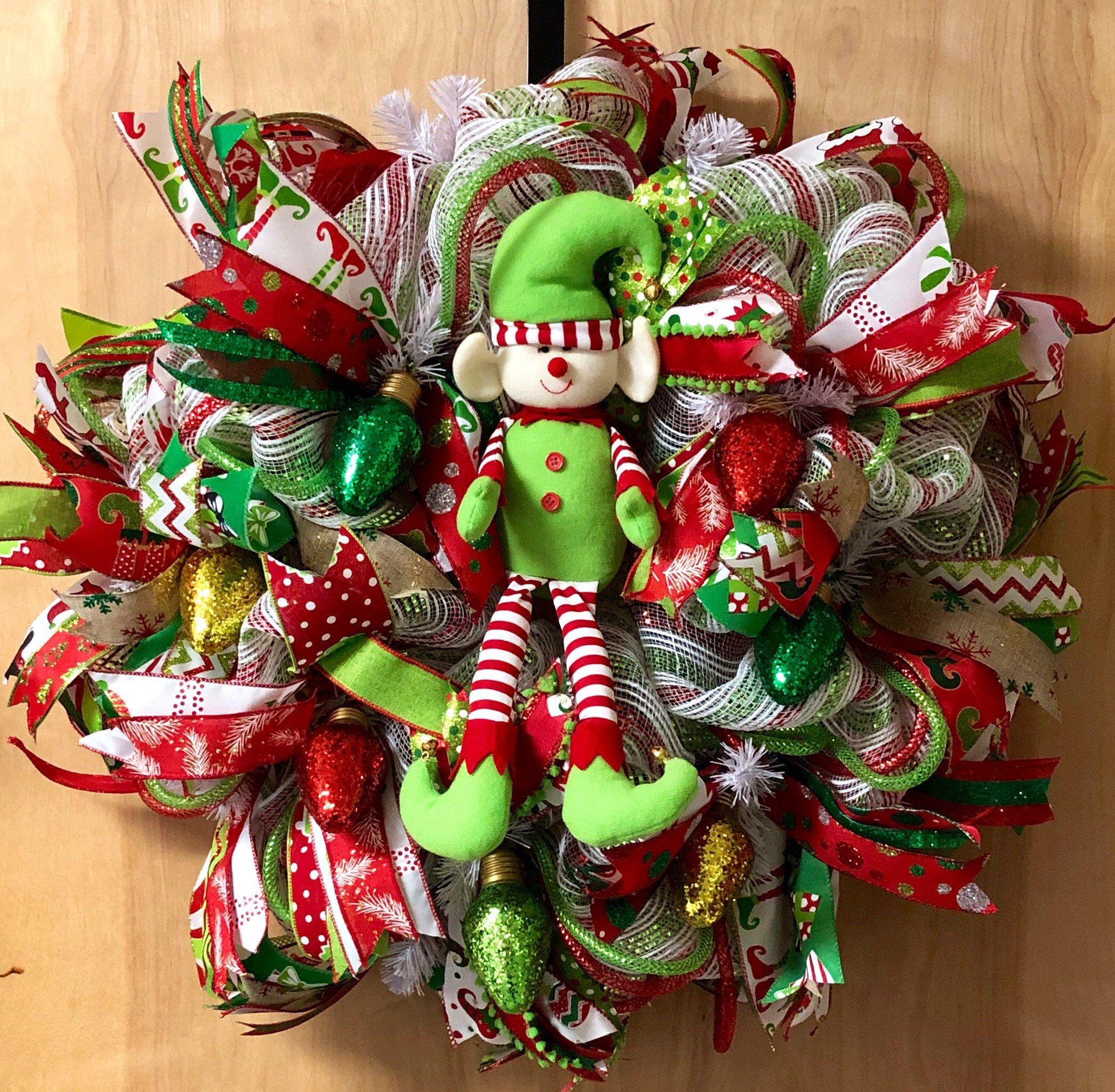 24+ Elf christmas wreath information