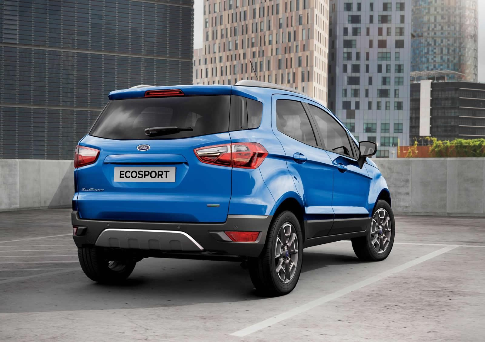 2016 ford ecosport rear press image uk specification