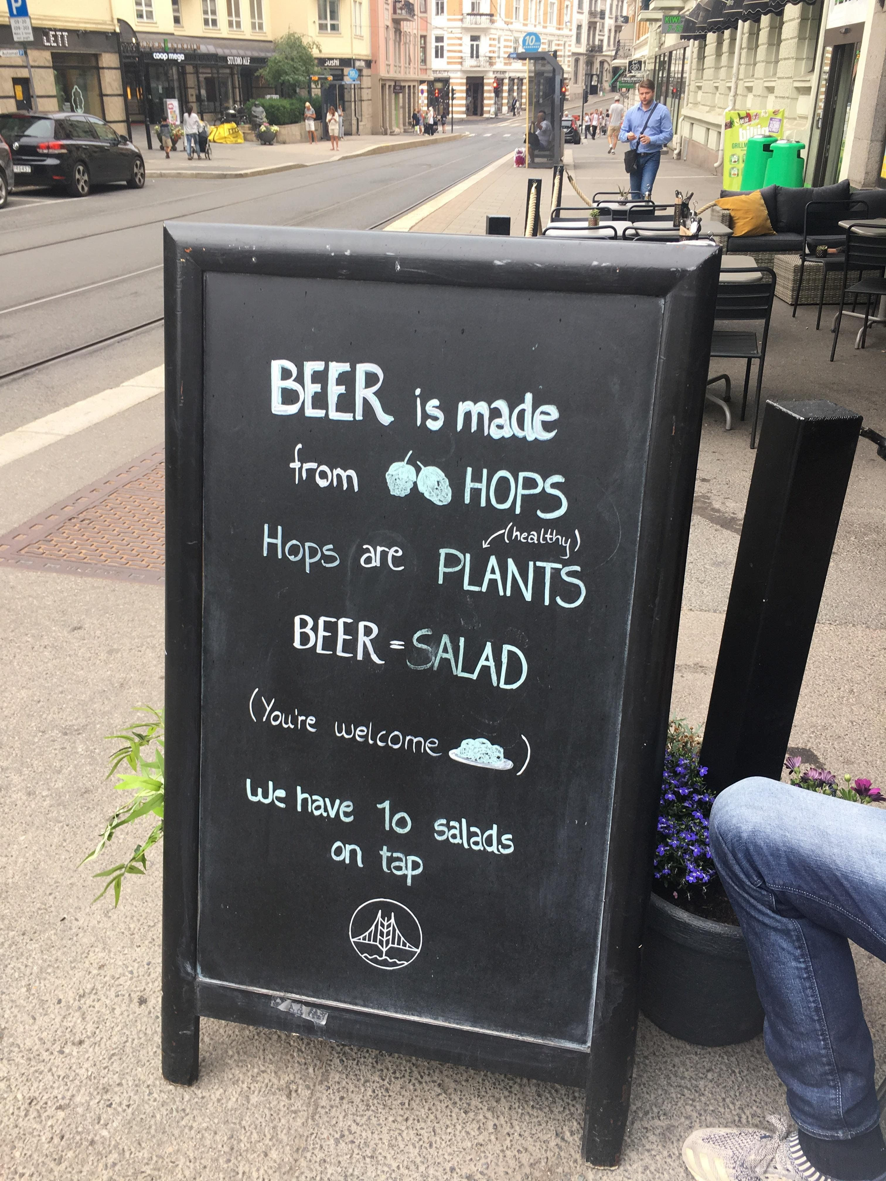 In Oslo, Norway funny Funny pictures, Beer jokes, Funny