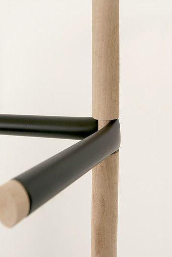 Tube flattening project (coat stand) by Kohdai Iwamoto