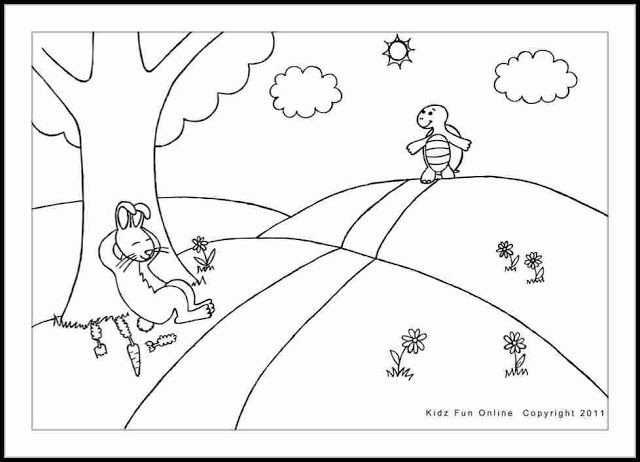 Infantil Mercedarias: La liebre y la tortuga ... audio cuento ...