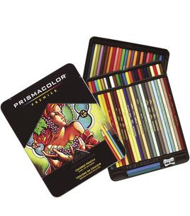 Prismacolor 72 Colored Pencil Set Pen Paper Scissors