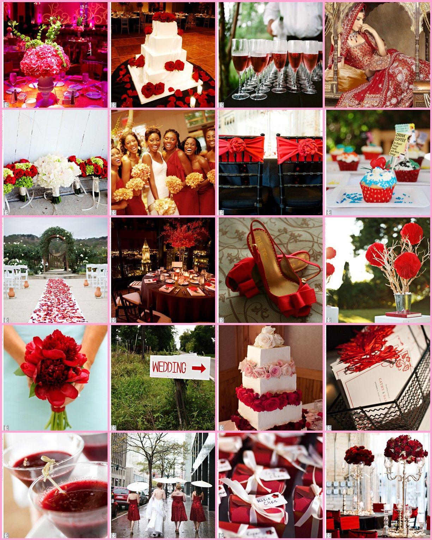 valentine's day wedding theme   red   wedding, wedding