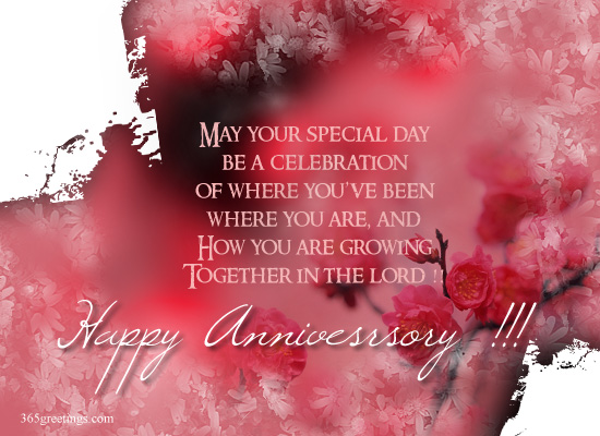Love wedding anniversary card for a husband with wedding