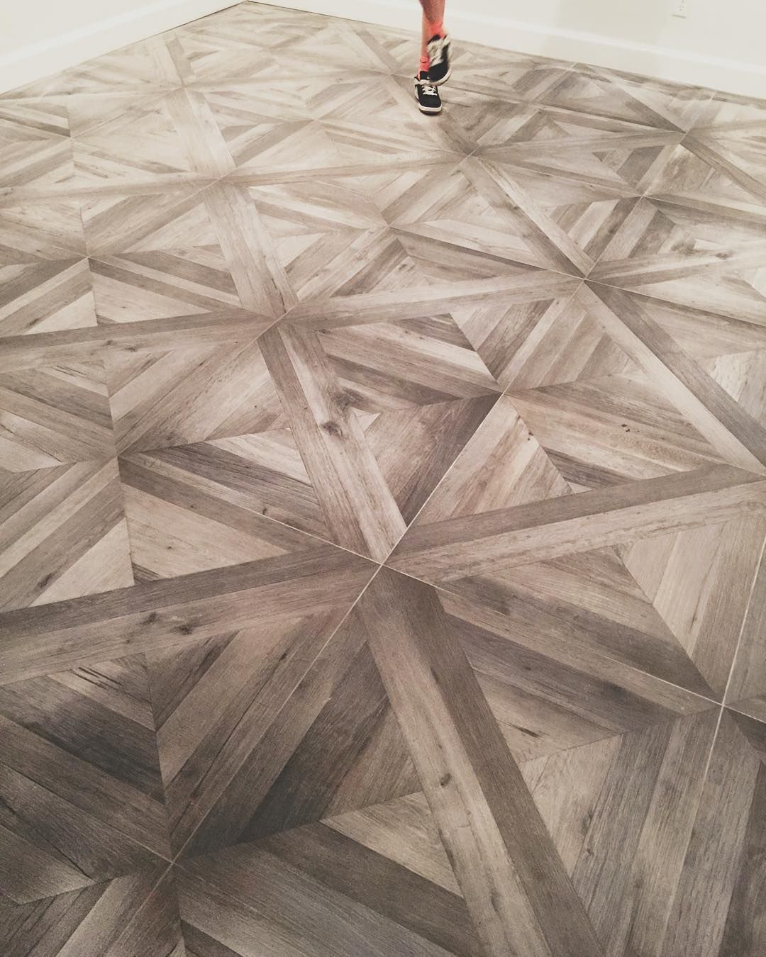 Love This Tile That Was Just Installed In A Basement In