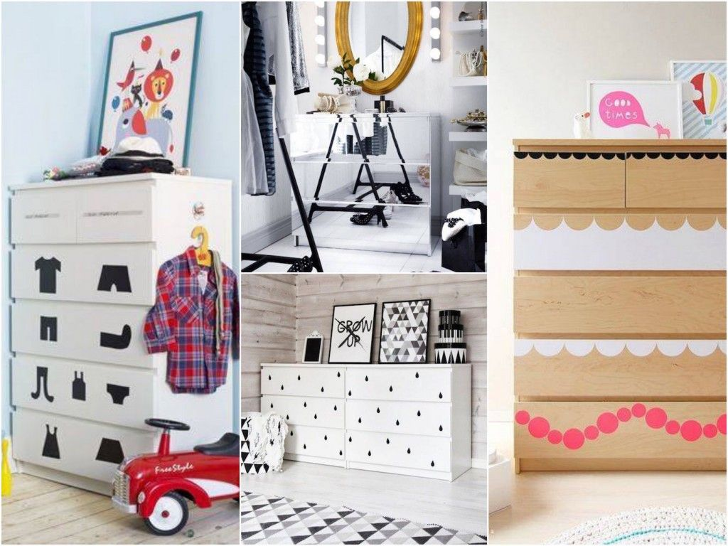 Transformer un meuble ikea la commode malm tuto diy pour la maison commode malm malm et ikea - Stickers ikea meuble ...
