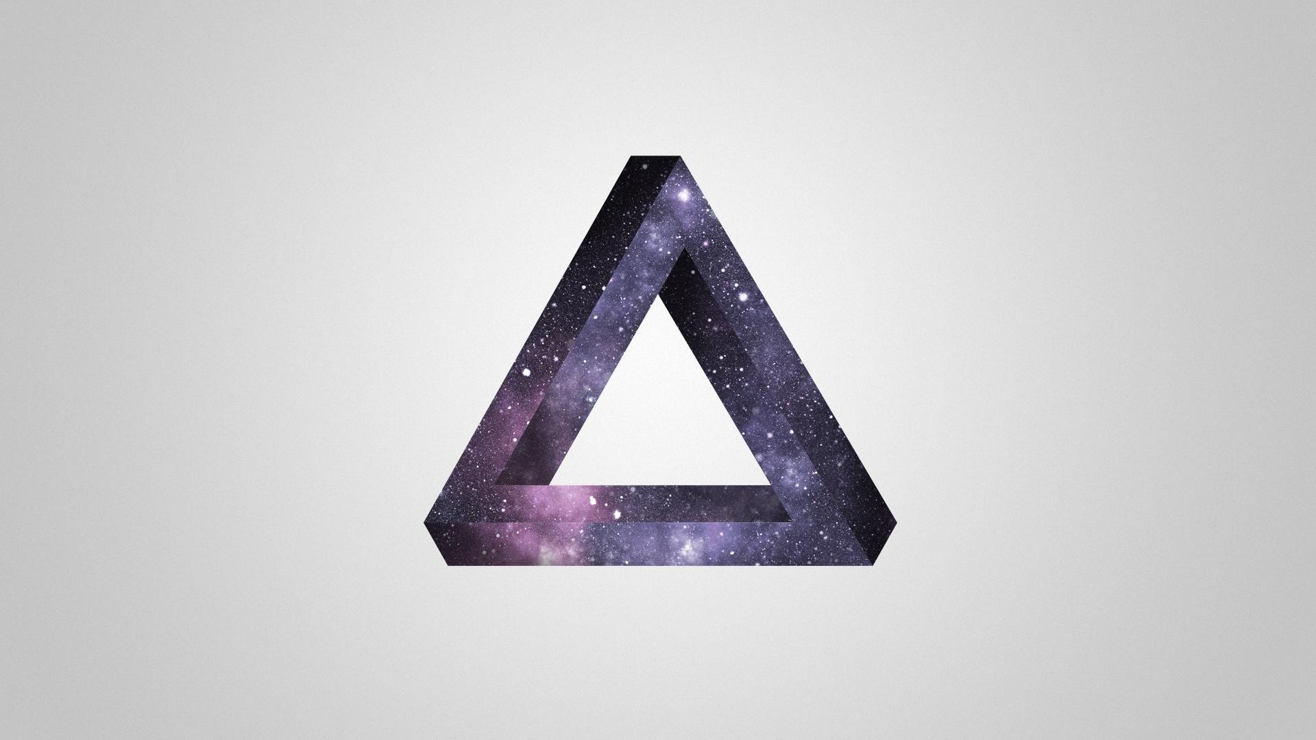 galaxy penrose triangle art amp photography pinterest