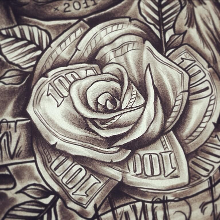Tattoo Designs Under 100 Dollars: Tatuajes De Rosas