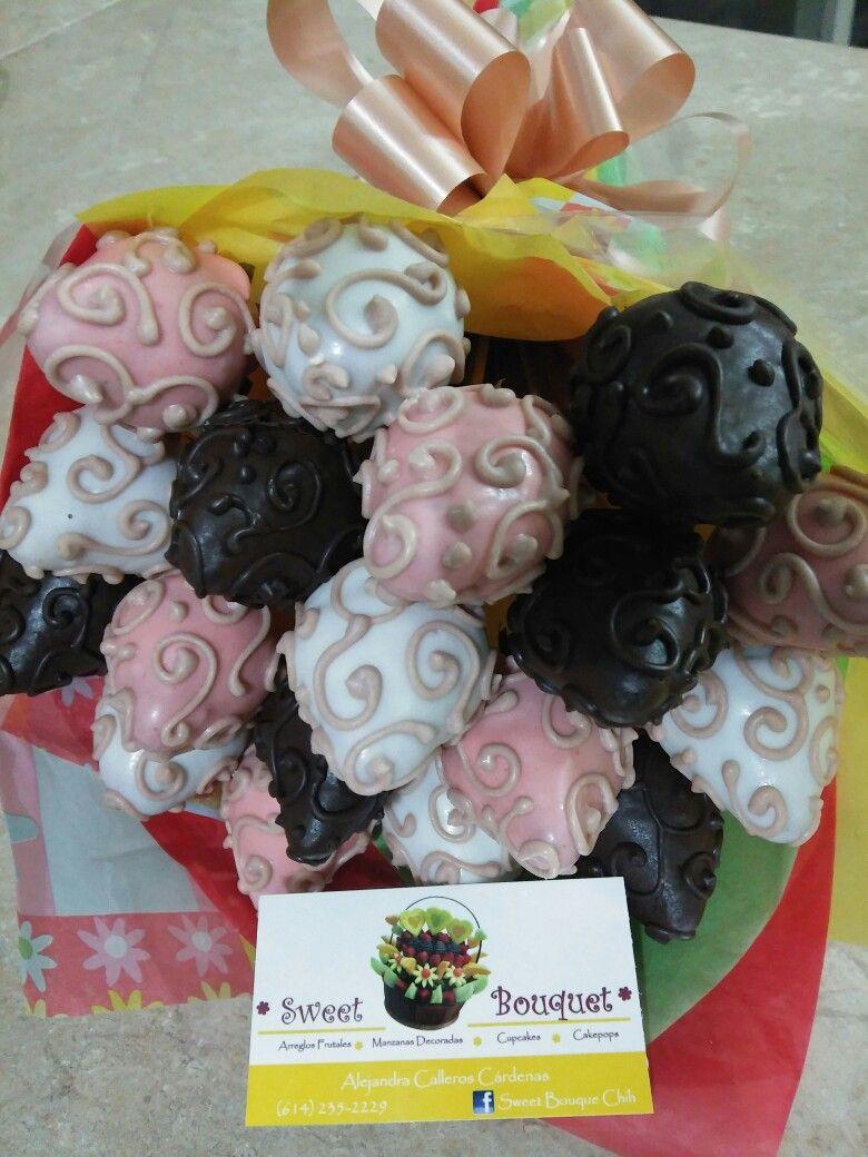 Ramo de fresas con chocolate by Sweet Bouquet Chih