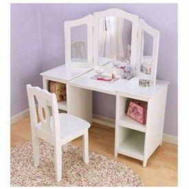 Kids Makeup Table Kids Furniture Childrens Vanity Sets