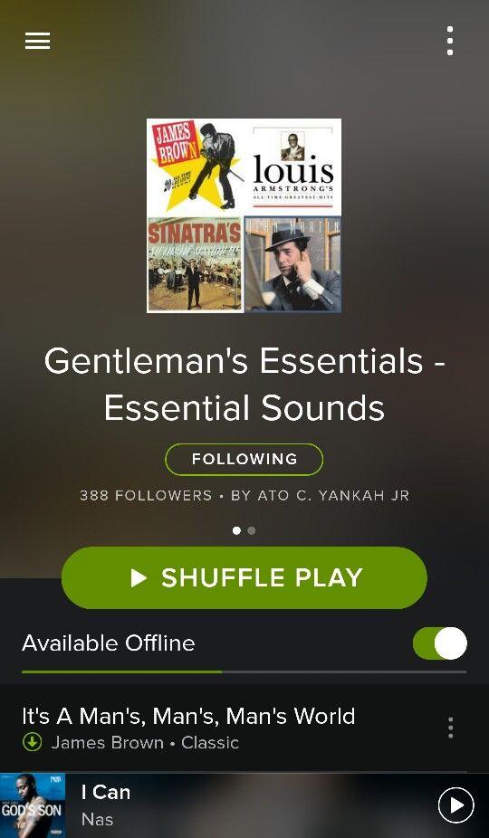 Follow the Gentleman's Essentials on Spotify. 100's of classics, ALL geared towards gentlemen. Enjoy.  Gentleman Guidelines
