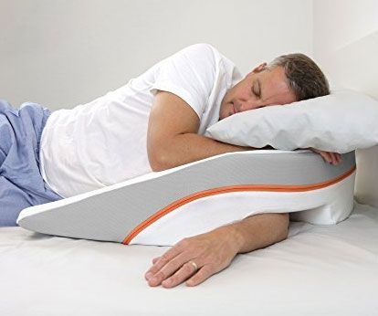 Side Sleep Wedge Pillow | Neck pain relief | Pinterest ...