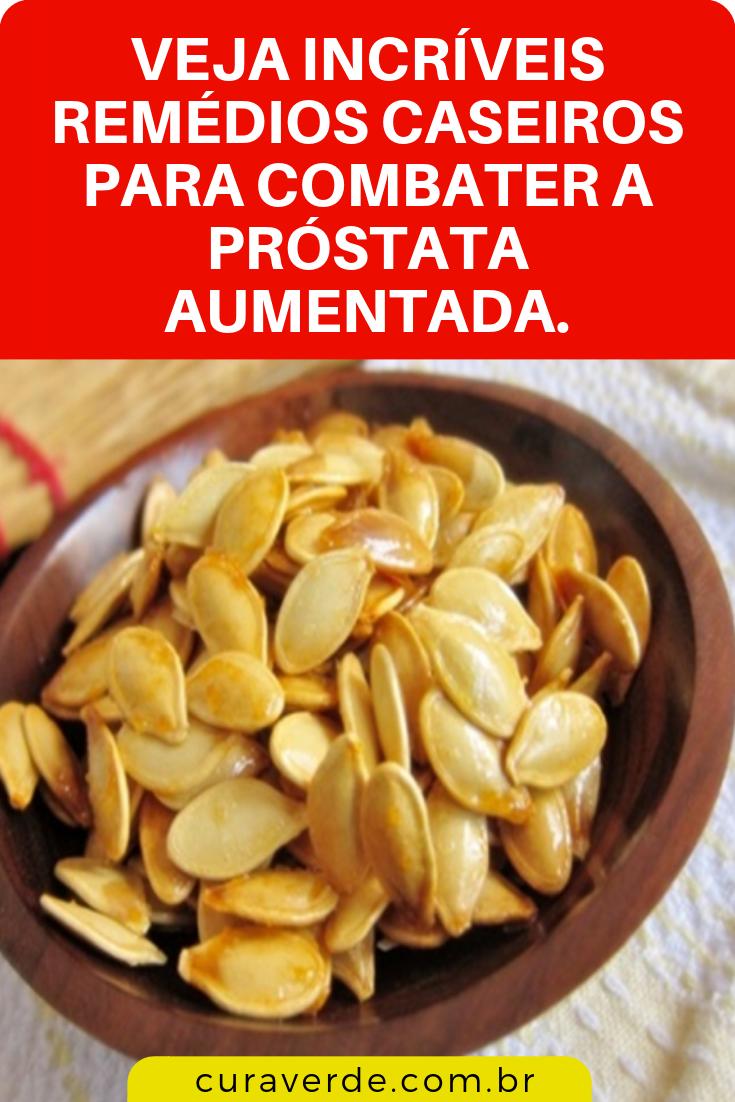 remedio natural próstata aumentada