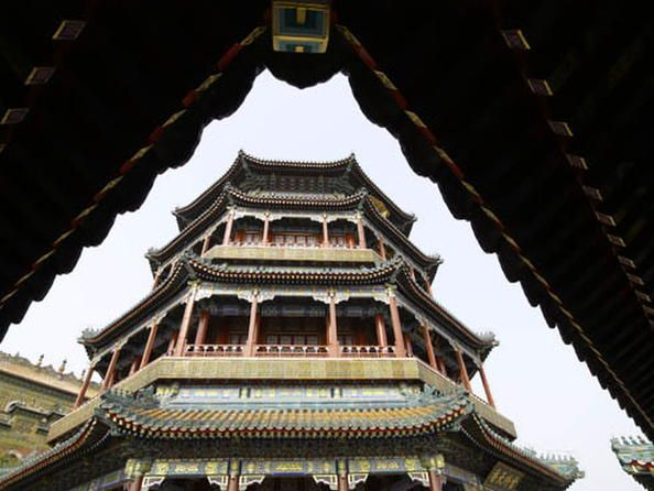 Summer Palace, an Imperial Garden in Beijing, China, UNESCO World Heritage Site
