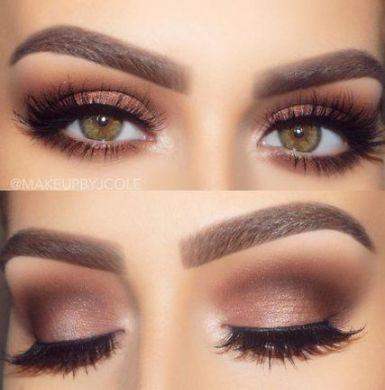 61 Ideas wedding makeup for brown eyes bridal brunettes for 2019 in 2020 | No eyeliner makeup, Hazel eye makeup, Makeup for hazel eyes