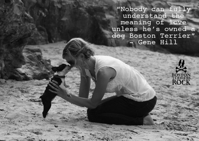 """Nobody can fully understand the meaning of love unless he's owned a dog"" - Gene…"